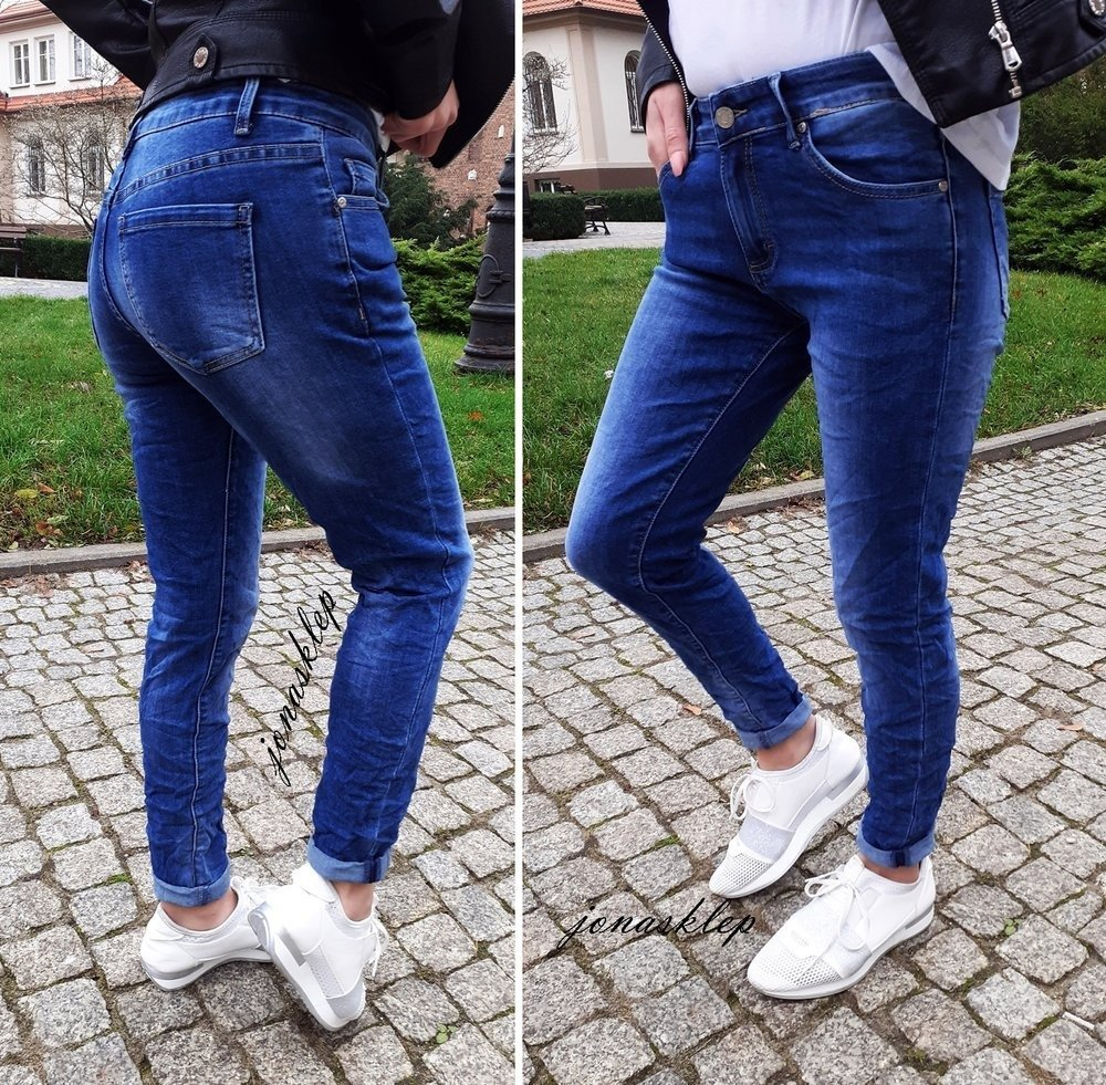 Classic jeans PUSH UP DENIM rurki