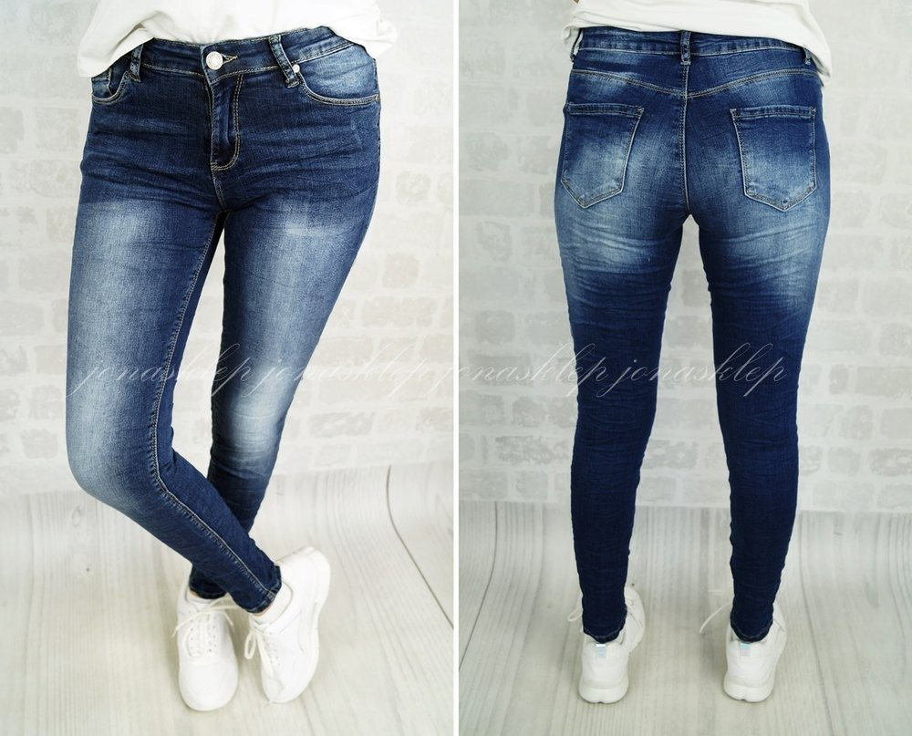 DENIM CASUAL JEANS dark LOVE